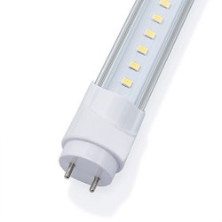 TUBE LED 1,2M COUVER TRANSPARENT 18W