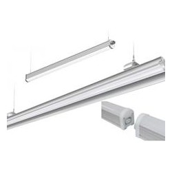 TUBE LED 1,2M COUVER TRANSP 60W