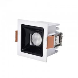 MINI SPOT LED CARRE BL COB OSRAM 6W