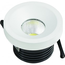 MINI SPOT LED ROND BL COB 3W