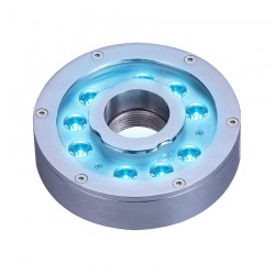 SPOT ENCASTRE INOX 9*3W POWER LED 24VDC