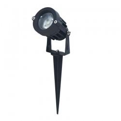 SPOT A PIQUET ETANCHE 12W LED