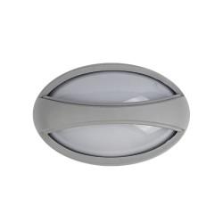 APPLIQUE EXT LED ROND IP54 6W GRIS  DL