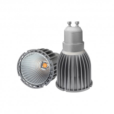 LAMPE LED GRIS MR16 COB 7W 220V 3200K