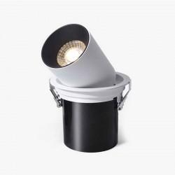 SPOT ALLUMINIUM ENCASTREE ROND BLANC LED EPISTAR 15W DL