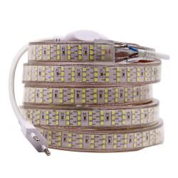 RUBAN 220V 2835 180 1 CHIP 8W 12MM  6-8L IP65