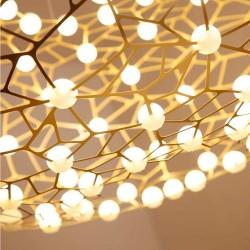 SUSPENSION LED EN ACIER D122*55/1.8M DL
