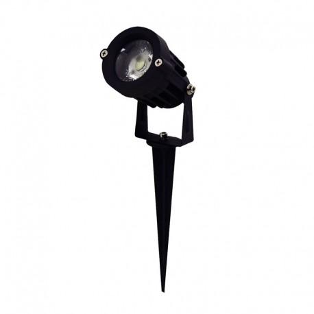 SPOT A PIQUET ETANCHE 5W LED