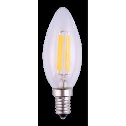 LAMPE FLAMME SMD E14 LED 6W 220V